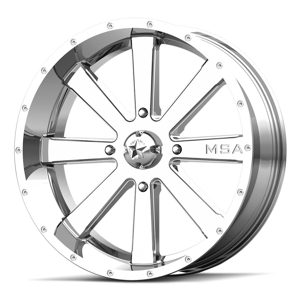 18 Inch Rims And Tires >> Motosport Alloys M34 Flash 18 Inch Chrome Wheels With Optional Mounted Tires