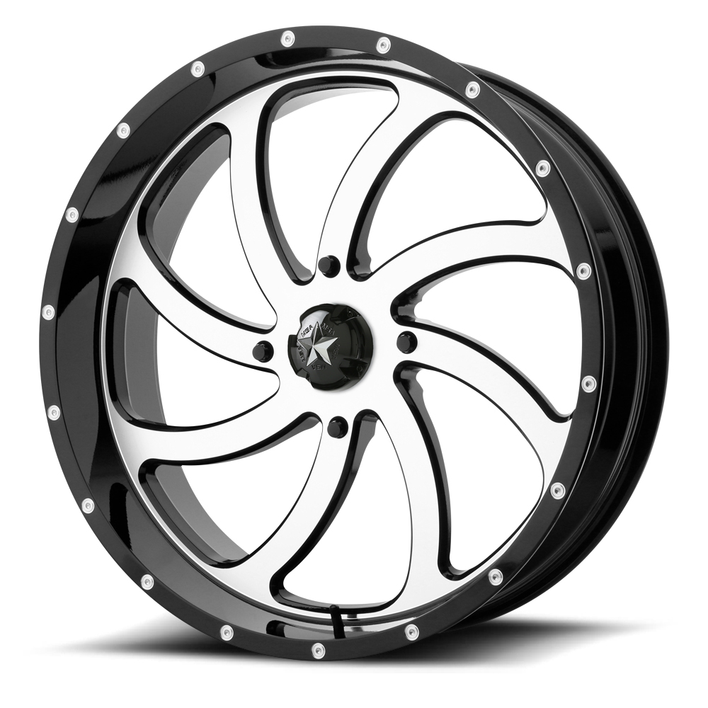 Msa M36 Switch Wheels 18 Inch Machined With Optional Mounted Tires