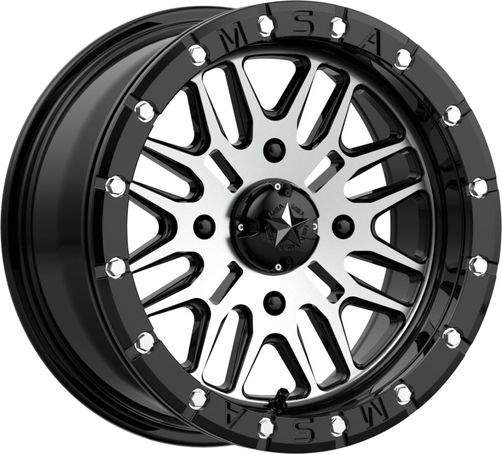 15 Inch Tires >> Motosport Alloys 15 Inch M37 Brute Beadlock Tire And Wheel Kits