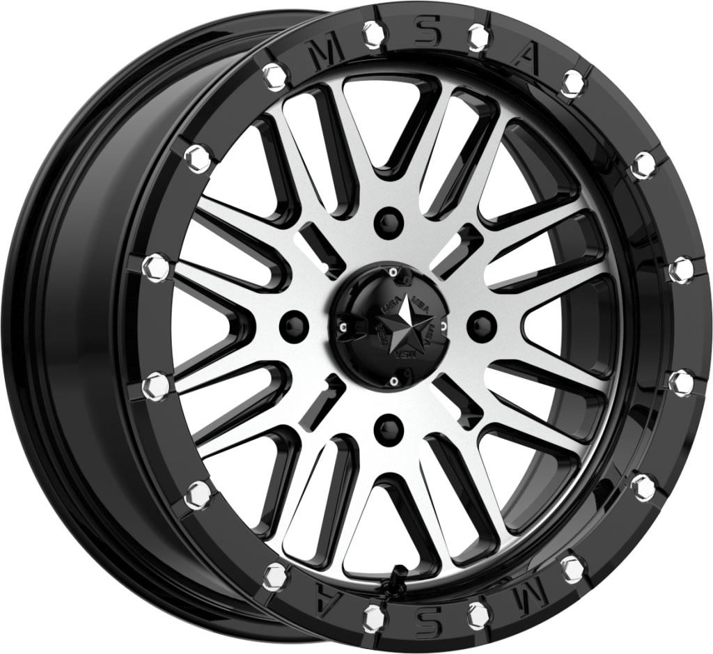 16 Inch Msa M37 Brute Beadlock Tire And Wheel Kits