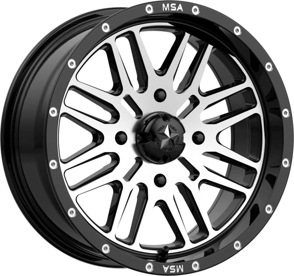 Motosport Alloys M38 Brute 16 Inch Wheels With Optional Mounted Tires