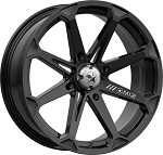 MSA M12 Diesel Rims, 18 inch Black (with optional mounted tires)