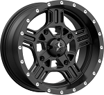 MSA M32 Axe Rims, 14 inch Satin Black