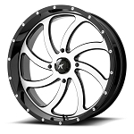 Motosport Alloys M36 Switch 18 Inch Machined Wheels (with optional mounted tires)