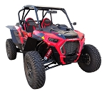 MudBusters Max Coverage Fender Flares for Polaris RZR XP Turbo S