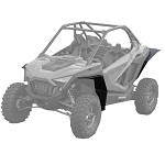 MudBusters Mudlite Fender Flares for Polaris RZR PRO XP