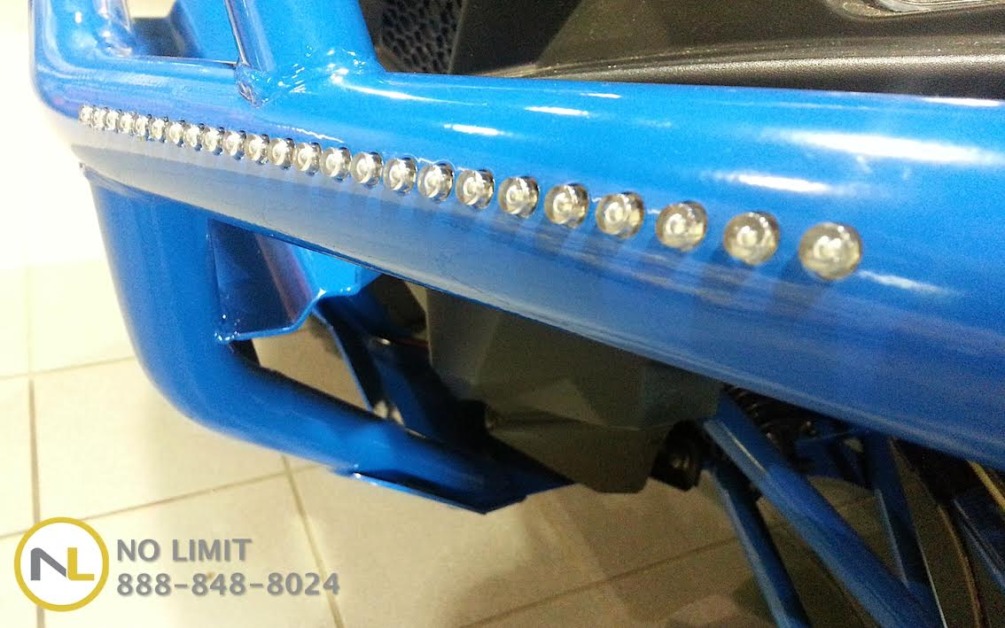 Rear Brush Guard For The Polaris Rzr Xp 900 By No Limit