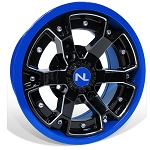 No Limit Deuce 14 Inch 2 Piece Blue Wheels (matches Voodoo Blue & Velocity Blue)