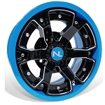 No Limit Deuce 14 Inch 2 Piece Octane Blue Wheels (matches Can Am)