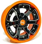 No Limit Deuce 14 Inch 2 Piece Orange Wheels (Orange Madness, Spectra Orange, Honda Orange)