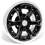 No Limit Deuce 14 Inch 2 Piece White Wheels