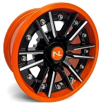 No Limit Storm 14 Inch 2 Piece Orange Wheels (Orange Madness, Spectra Orange, Honda Orange)