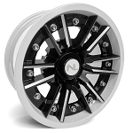 No Limit Storm 14 Inch 2 Piece White Wheels