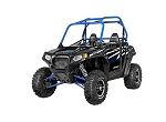 Pro Armor 2014 Stealth Black (Blue Cage) Door Graphic Kit for Polaris RZR S