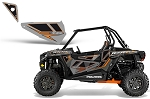 Pro Armor 2014 Titanium Orange Door Insert Graphic Kit