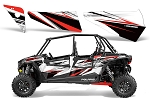 Pro Armor 2014 White Lightning Door Insert Graphic Kit for RZR XP 4 1000