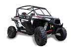 Pro Armor Polaris RZR XP 1000 Black Lower Door Inserts
