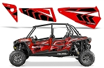 Pro Armor 2015 Havasu Red Pearl Door Insert Graphic Kit for RZR XP 4 1000