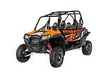 Pro Armor 2014 Orange Madness Extreme Door Graphic Kit for Polaris RZR 4 900 XP