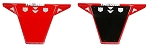 Pro Armor Red Race Front Bumper for Polaris RZR XP 1000 & RZR 900