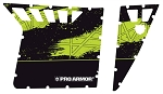Pro Armor 2013 RZR XP 900 Stealth Black/Green w/Cut Outs Graphic Kit