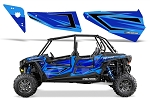 Pro Armor 2015 Voodoo Blue Door Insert Graphic Kit for RZR XP 4 1000