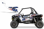 Pro Armor 2015 White Lightning Door Insert Graphic Kit for RZR XP 1000