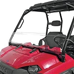 Quadboss Half Windshield for Polaris Ranger/RZR