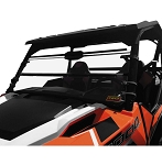 Quadboss Folding Windshield for Polaris General
