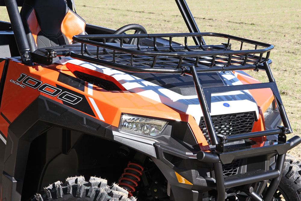 Seizmik Hood Rack For Polaris General 1000