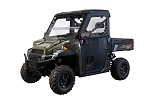 Seizmik Framed Soft Door Kit for Polaris Ranger XP Models (Pro-Fit, Older Body Style)