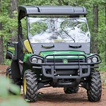 Seizmik Versa-Vent Windshield for the John Deere Gator