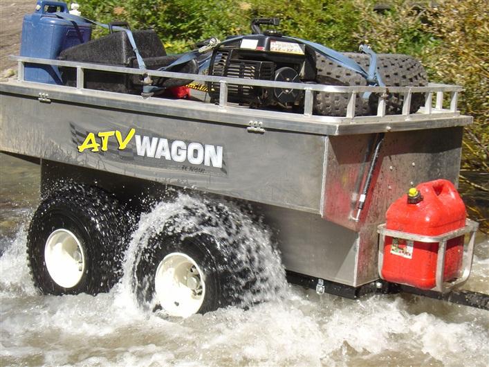 Atv Wagon 1600 Aluminum Atv Trailer