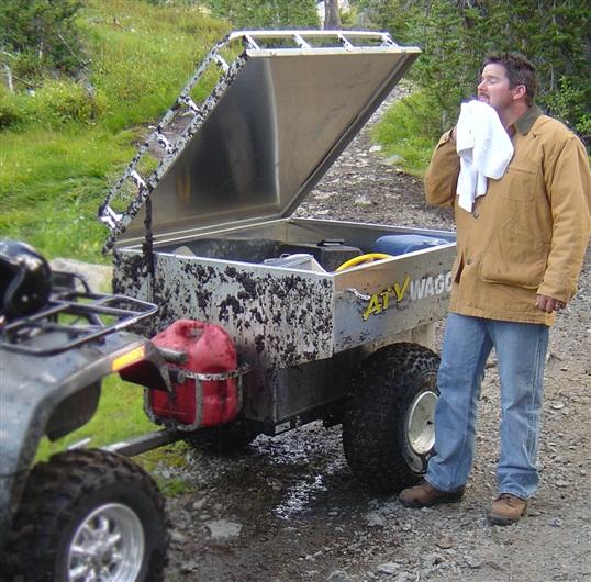 Atv Wagon 800 Aluminum Atv Trailer