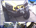 EMP Can-am Commander Extreme Front Bumper with Winch Mount (2010-2014)