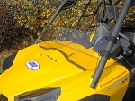 EMP Wind Deflector/ Half Windshield for Can-Am Commander With Fast Straps