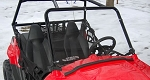 Extreme Metal Products RZR 170 Full Windshield