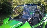 Extreme Metal Products Arctic Cat Wild Cat Full Windshield