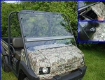 Extreme Metal Products 4010 Mule flip up Windshield