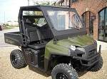 EMP Laminated DOT Safety Glass Windshield for Full Size Polaris Ranger