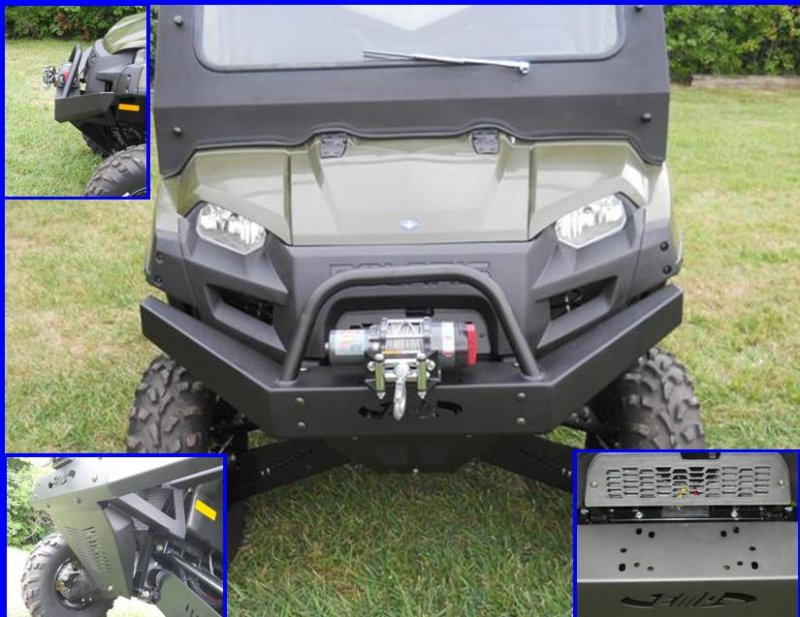 Ranger Extreme Front Bumper By Emp