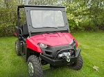 EMP Laminated Safety Glass Windshield for Mid Size Polaris Ranger
