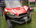 EMP Polaris Ranger Fullsize Front Bumper with Winch Mount