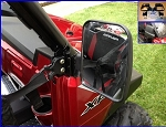 EMP XP900 Polaris Ranger Folding Mirrors for PRO-FIT Cage