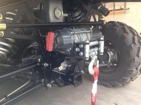 Emp Rear Winch Mount For Xp900 Polaris Ranger