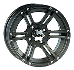 ITP SS212 ATV Wheels - 14 inch Black