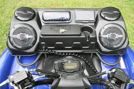 Atv Accessories J Strong Atv Stereo Box