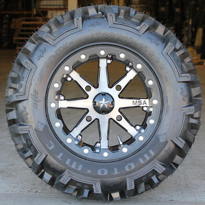 Motosport Alloys M21 14 Inch Lok Beadlock Wheels