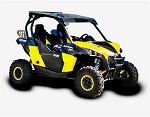 Can-Am Commander (2010-2013) & Maverick (2013) Black Aluminum Roof by Pro Armor