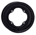 STI Pro-Lite Black ATV Wheels - 8, 9 & 10 Inch